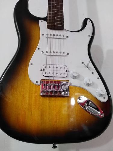 guitarra electrica squier fender hss stratocaster de paquete