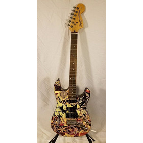 Guitarra Electrica Squier Fender Stratocaster Obey Standard