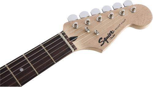 guitarra eléctrica squier stratocaster bullet con trémolo 6p