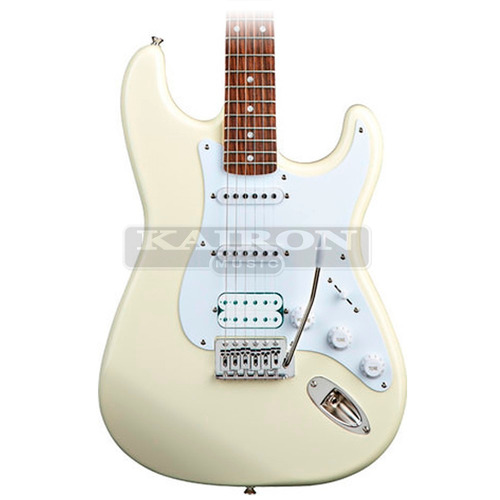 guitarra electrica squier stratocaster california fat white