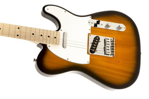 guitarra eléctrica squier telecaster affinity maple sunburst