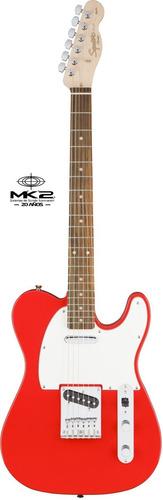 guitarra eléctrica squier telecaster affinity red race cuota