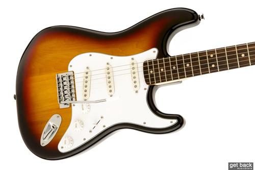 guitarra electrica squier vintage modified stratocaster sb