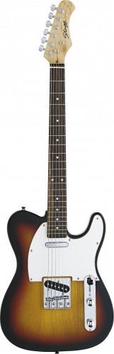 guitarra electrica standard stagg t320 sb nueva de paquete