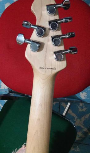 guitarra electrica sterling s.u.b. silo 3