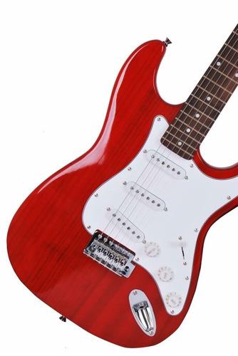guitarra eléctrica stratocaster + amplificador(envío gratis)