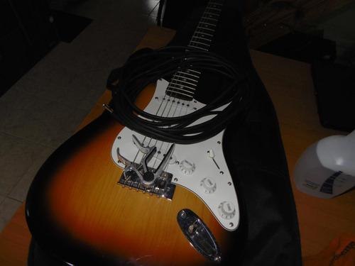 guitarra electrica stratocaster leonard