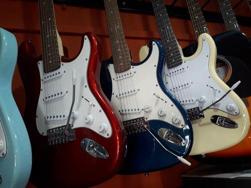 guitarra eléctrica stratocaster leonard