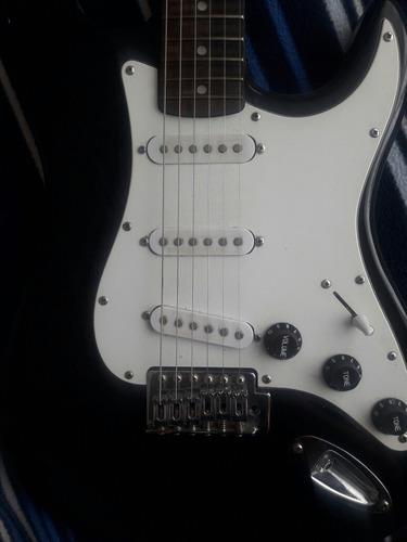 guitarra electrica stratocaster marca santana
