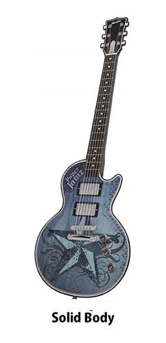 guitarra electrica tactil juguete paper jamz original hasbro
