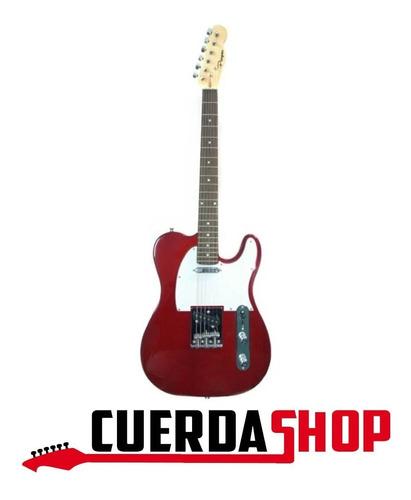 guitarra eléctrica telecaster parquer tl100rd roja