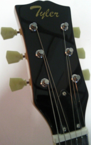 guitarra electrica tyler sg color cereza