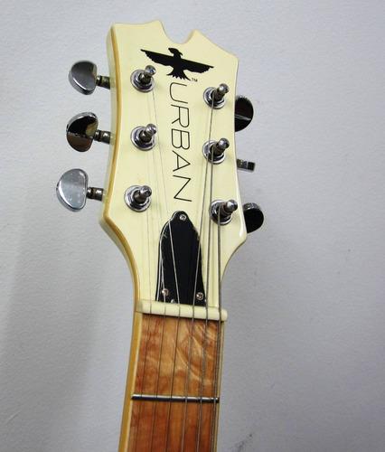 guitarra electrica urban zurda tipo lp axcess
