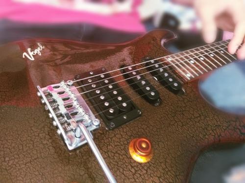 guitarra electrica vogel 300fr sistema floyd rose