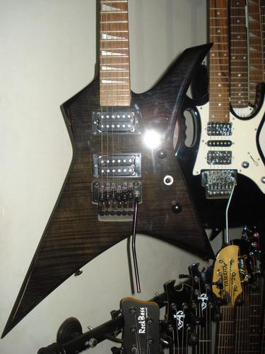 guitarra electrica vorson warrior jk2 con floyd rose