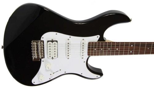 guitarra eléctrica yamaha pac112jbl pacífica negra