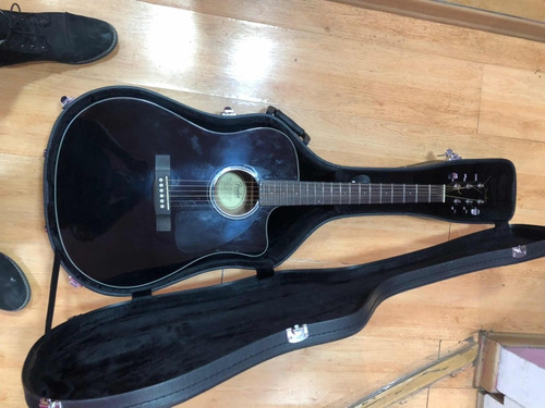 guitarra electro acústica fender cd60