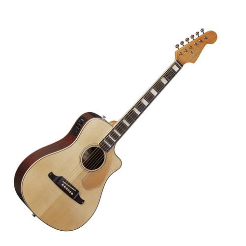 guitarra eléctro acústica fender malibu sce - envío gratis
