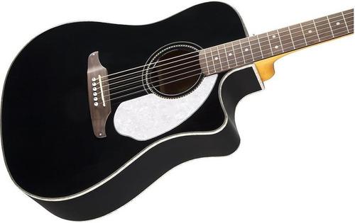guitarra electro acustica fender sonoran v2 negra fishman