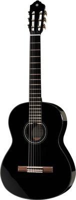 guitarra electro-clásica yamaha c-40 negra mas regalos