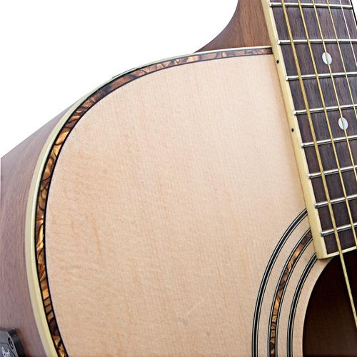 guitarra electroacústica ad880ce natural satin cort