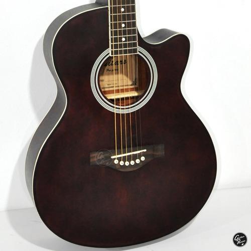 guitarra electroacustica + ampli 10w + funda + cable + pua +