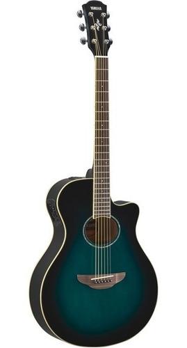 guitarra electroacústica apx600 obb yamaha