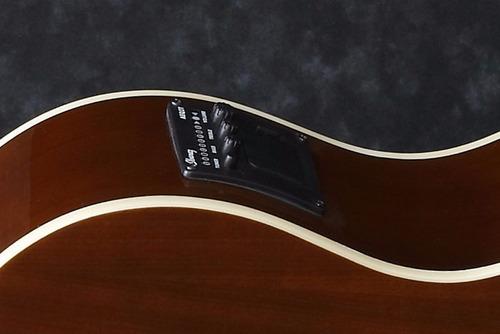 guitarra electroacústica color amber - ga6ce nylon - ibanez