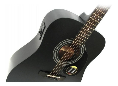 guitarra electroacústica cort ad810 bks profesional de ofert