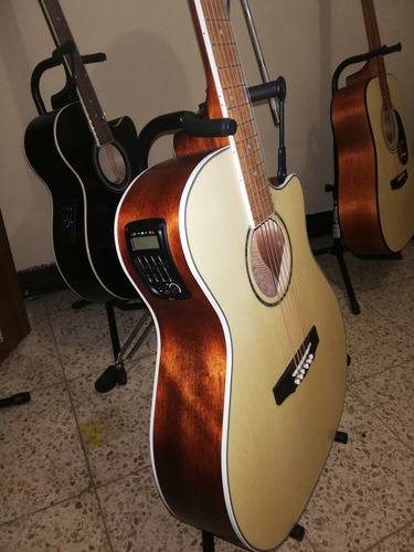 guitarra electroacustica cort gamedx op nuevas garantizadas