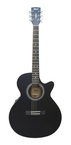guitarra electroacústica cort sfx me bks negro profesional