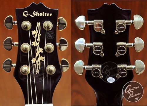 guitarra electroacustica corte + eq + afinador + funda + pua