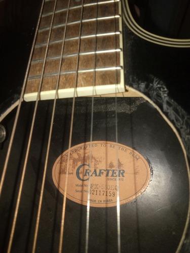 guitarra electroacustica crafter