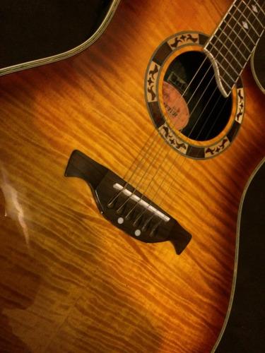 guitarra electroacústica crafter