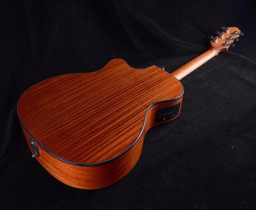 guitarra electroacustica crafter con afinador hde-500
