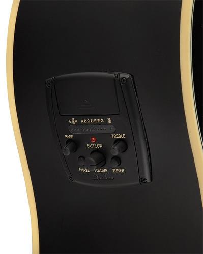 guitarra electroacústica epiphone aj220-sce ebony