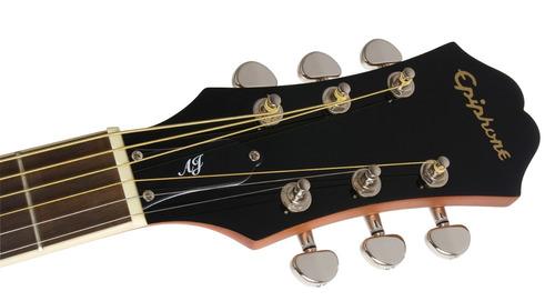 guitarra electroacústica epiphone aj220-sce vs cuotas