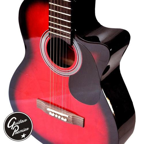 guitarra electroacustica eq4 + ampli + funda + cable + pua