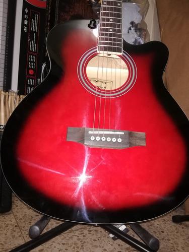 guitarra electroacústica fanatic nuevas excelente sonido