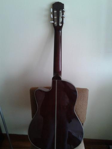 guitarra electroacustica fender cg 3ce nylon