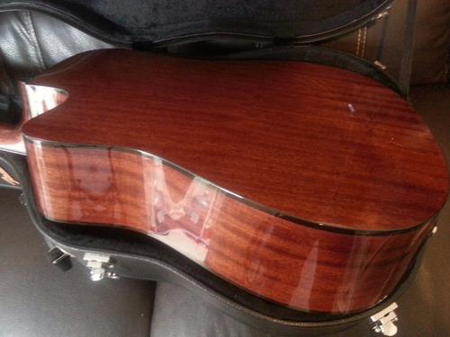 guitarra electroacustica fender con estuche rigido