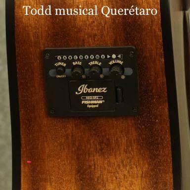 guitarra electroacustica ibáñez