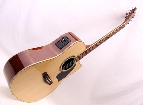 guitarra electroacústica ibanez pf28 ce-nt con fishman