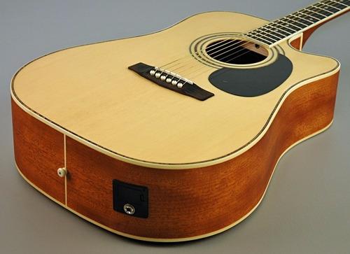 guitarra electroacustica jumbo cort profesional