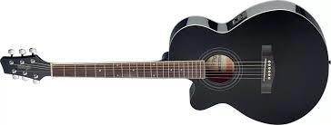 guitarra electroacústica marca stagg sa40mjcfi/12