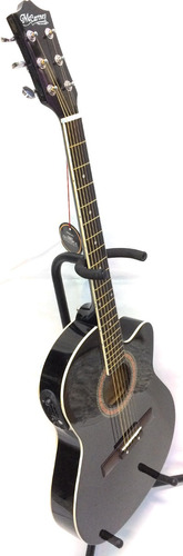 guitarra electroacustica mccartney bronce slim c/funda