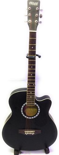 guitarra electroacustica mccartney slim funda-thaly envió !!