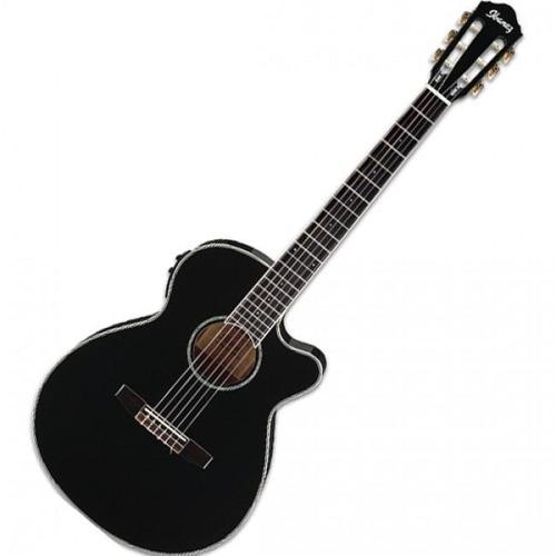 guitarra electroacústica negra aeg10 ibanez ( envío gratis )