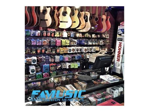 guitarra electroacustica outlet c/ mic linea basic rdl39tv