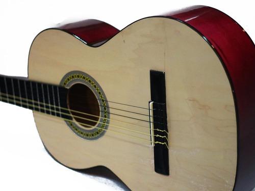 guitarra electroacustica paquete todo incluido pastilla 2 b
